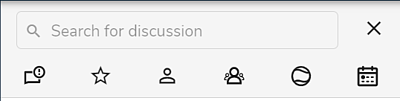 discussion filters