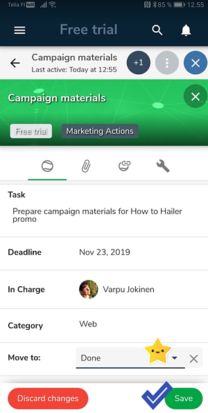 mobile task management