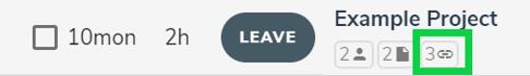 activity link button